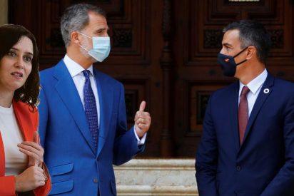 Felipe VI restriega el fracaso 4-M por la cara de Pedro Sánchez