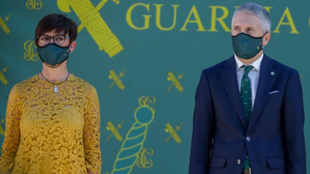 Golpe a Sánchez y Marlaska: la Guardia Civil denuncia a su directora general por tres graves delitos