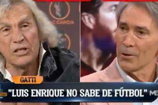 """'Loco' Gatti masacra a Luis Enrique por no llevar ni a Ramos ni a Nacho: """"¡No sabe de fútbol!"""""""