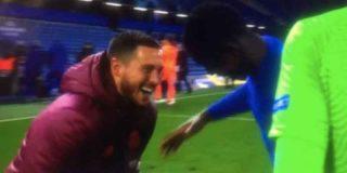 El madridismo arde con las escandalosas risas de Hazard con sus ex compañeros del Chelsea tras la derrota