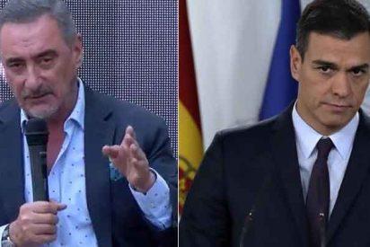 """Carlos Herrera: """"Sánchez es campeón mundial de jugar al escondite, no sabemos dónde está"""""""
