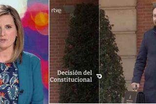 Así te la cuela TVE: despacha en tan solo 20 segundos la anulación de la inclusión de Iglesias y Redondo en el CNI