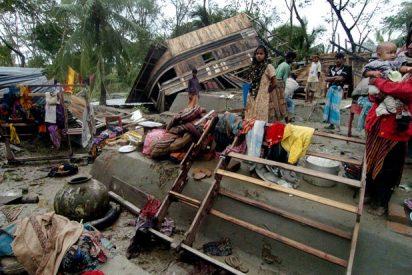 Un ciclón golpea brutalmente a India: 24 muertos y 96 desaparecidos