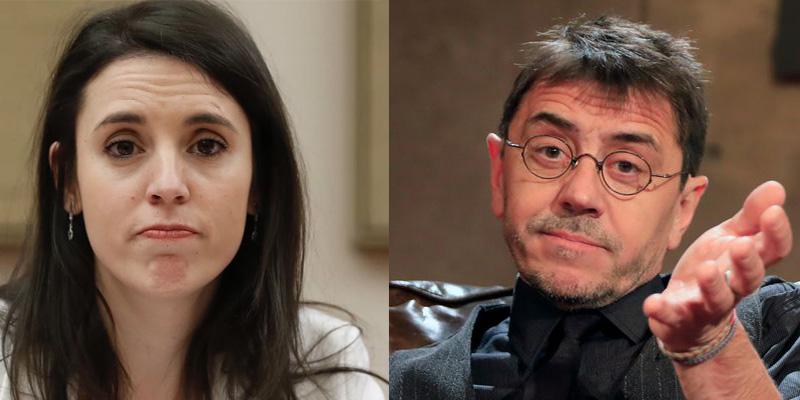 Irene Montero admite a Monedero que se frena al usar lenguaje inclusivo para evitar el troleo