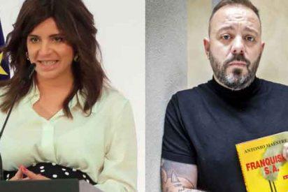 La escritora que le cantó las 40 a Sánchez ahora deja al ultra Antonio Maestre a la altura del betún