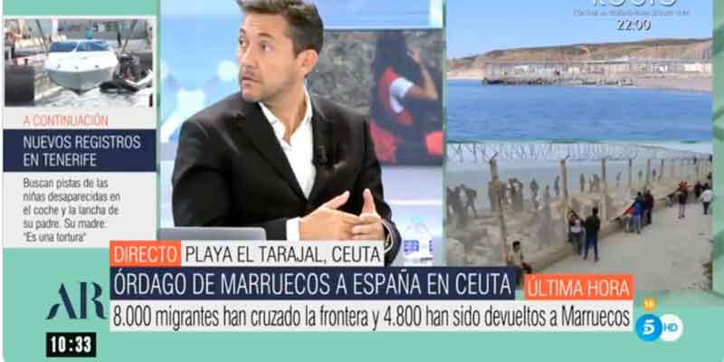 Ana Rosa frena a un excitadísimo Javier Ruiz por comparar a Santiago Abascal con Donald Trump