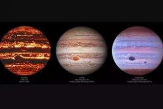 Las nuevas imágenes de Júpiter desvelan su multitud de rasgos atmosféricos