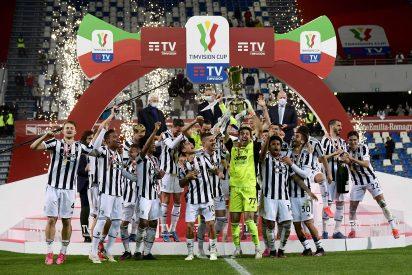 La Juventus recupera la Coppa Italia tras una temporada desastrosa