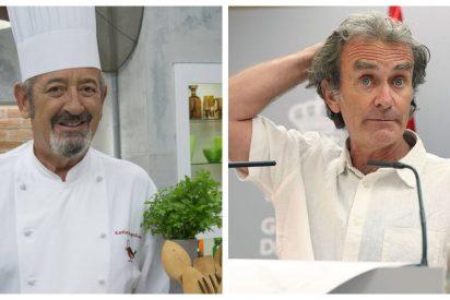 Karlos Arguiñano cuenta en directo lo que realmente piensa de Fernando Simón y el resultado es inquietante