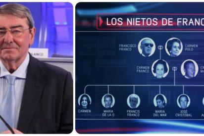 La familia Franco pone en el punto de mira judicial a Mediaset y a Vasile por vulnerar el honor del dictador