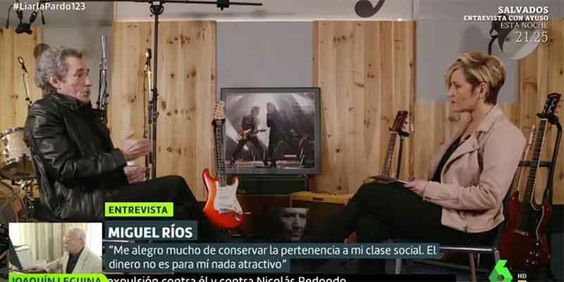 """Miguel Ríos, despellejado en redes por defender que """"el franquismo ha vuelto"""" representado en VOX y el PP"""
