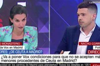 """Monasterio incendia Telemadrid: """"Hay medios públicos que pagamos todos y están trufados de activistas políticos"""""""