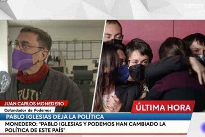 """Monedero llora a los hombros de Cintora: """"Los que cobran 900 euros han ido a votar a su verdugo"""""""