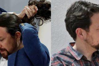 Tras el trasquilón de Ayuso, el cursi Iglesias deja la política y cambia de 'look': se corta la coleta y se peina a lo 'Cayetano'