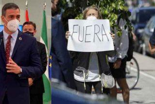 """No lo verás ni en laSexta ni en TVE: Pedro Sánchez, recibido a gritos de """"sinvergüenza"""" en Granada"""