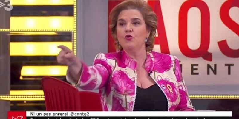 Rahola se llevaba de La Vanguardia 100.000 euros anuales por sus soflamas a favor del fugado Puigdemont