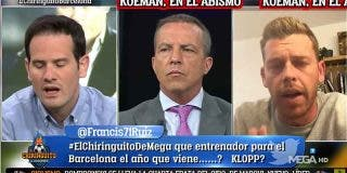 """Divertidísimo: los culés de 'El Chiringuito' estallan tras otro patinazo del Barça de Koeman: """"¡Es una vergüenza!"""""""