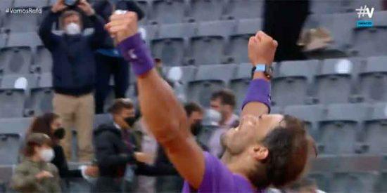 """Los aficionados al tenis cargan contra Movistar+ por cortar la entrega del trofeo a Nadal: """"¡Vergonzoso!"""""""