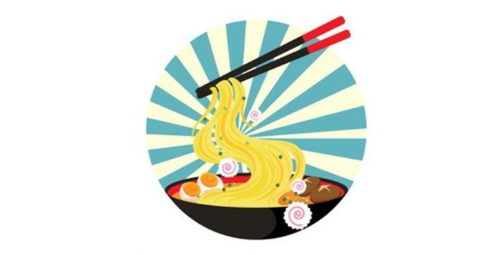 sapa de ramen tradicional del Japón