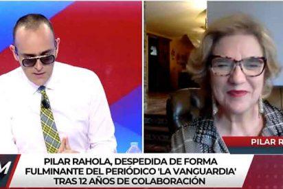 """Rahola se va a llorar a los hombros de Risto: """"La Vanguardia se ha radicalizado"""""""