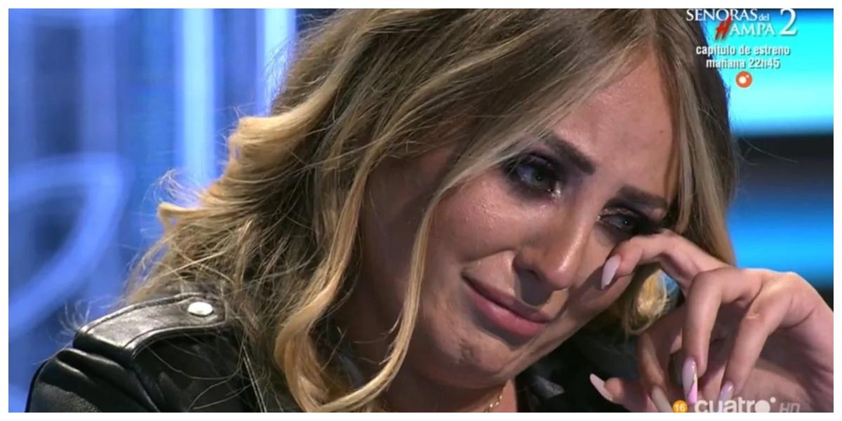 Esto es por lo que lloraba realmente Rocío Flores en directo: la traición incomprensible de su padre