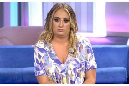 La cara de Rocío Flores al enterarse en directo que su hermano David había declarado contra su propia madre