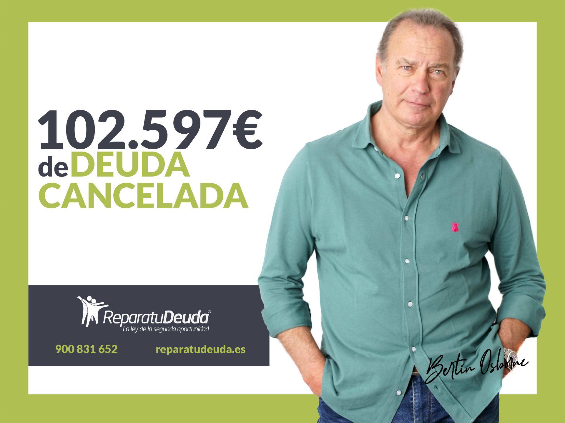 Repara tu Deuda abogados cancela 102.597€ en San Vicente del Raspeig con la Ley de Segunda Oportunidad