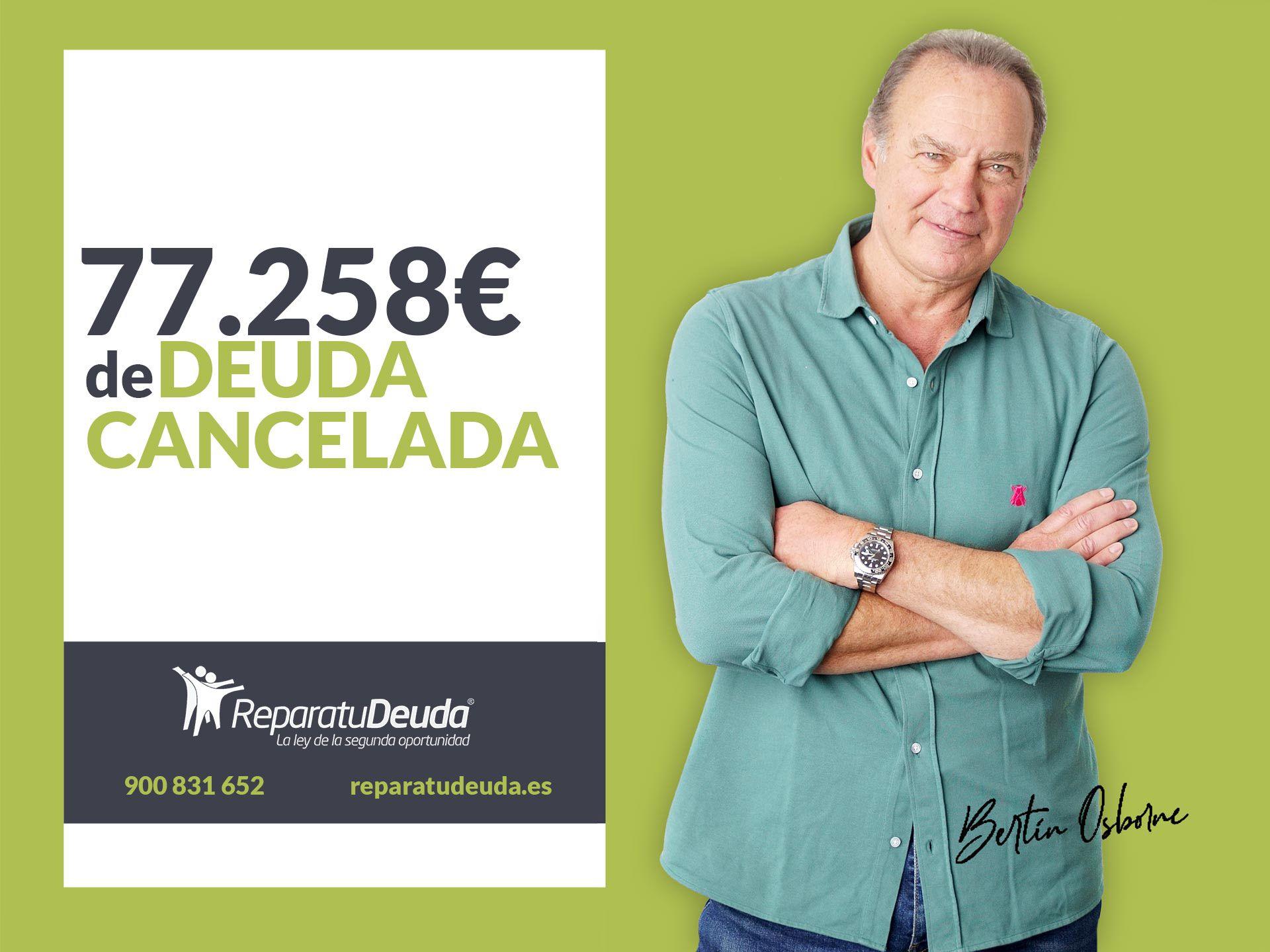 Repara tu Deuda cancela 77.258€ con deuda pública en Gijón (Asturias) con la Ley de la Segunda Oportunidad