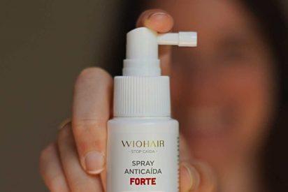 Wiohair lanza el nuevo Spray Anticaída Forte, eficacia y comodidad todo en 1