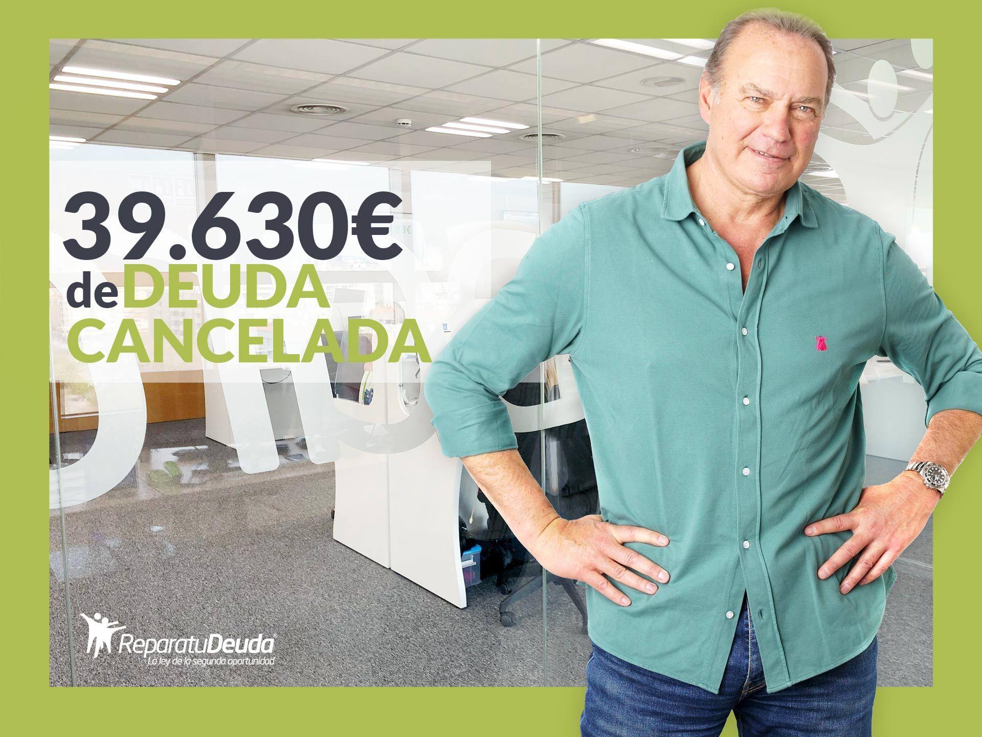 Repara tu Deuda Abogados cancela 39.630€ en Olesa de Montserrat con la Ley de Segunda Oportunidad