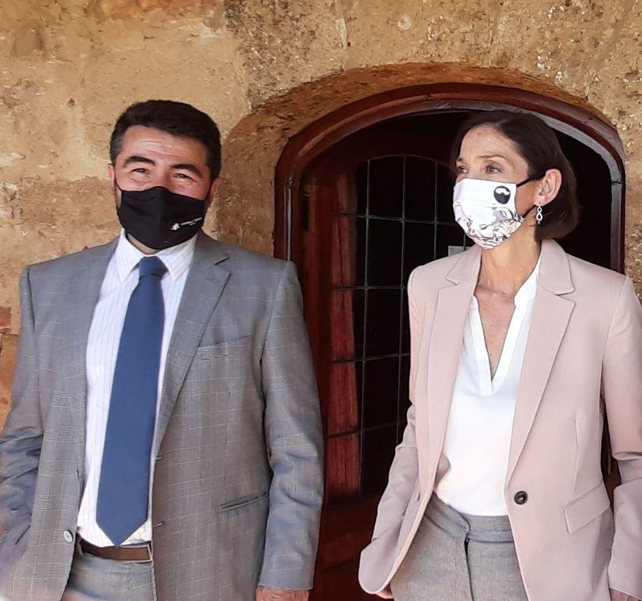 Castilla Termal Hoteles presenta a la ministra de Industria, Turismo y Comercio, Reyes Maroto, su estrategia de crecimiento hasta 2030