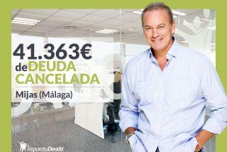 Repara tu Deuda abogados cancela 41.363€ en Mijas (Málaga) con la Ley de Segunda Oportunidad