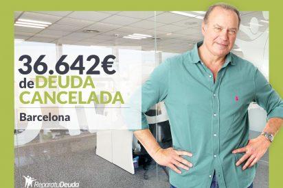 Repara tu Deuda cancela 36.642€ en Barcelona con la Ley de la Segunda Oportunidad