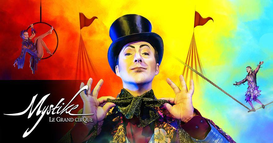 "Después de sus dos primeros éxitos, llega a Barcelona ""Mystike - Le Grand Cirque"""