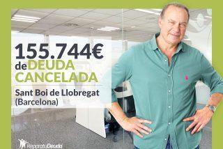 Repara tu Deuda cancela 155.744€ con deuda pública en Sant Boi con la Ley de la Segunda Oportunidad
