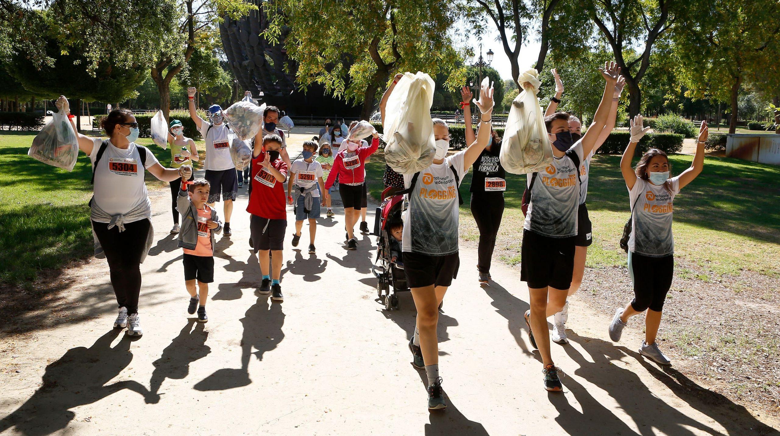 Euskadi acoge la 1ª gira de deporte y ecología que se celebra en Europa, Nationale-Nederlanden Plogging Tour