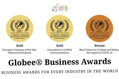 AOTECH SECURITY con ClassInTheBox se trae a España 3 prestigiosos premios Globee Awards US