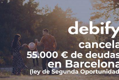 Debify consigue cancelar 55.000€ de deuda a un matrimonio en Barcelona con la Ley de Segunda Oportunidad