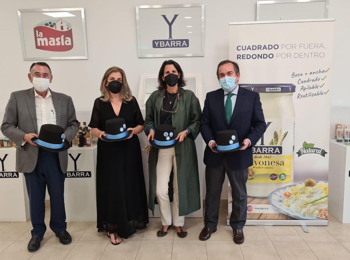 Ybarra firma un acuerdo de colaboración con las fundaciones El Gancho Infantil y Ronald McDonald