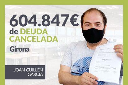 Repara tu Deuda Abogados cancela 604.847€ en Girona con la Ley de Segunda Oportunidad