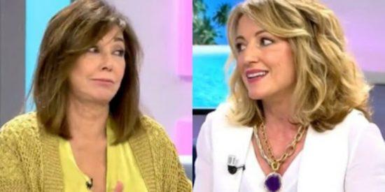 Ana Rosa Quintana frena en seco a Sandra Aladro por criticar a la mujer de Antonio David Flores