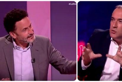Edmundo Bal hace picadillo a Xabier Fortes por justificar los indultos de Pedro Sánchez a los golpistas