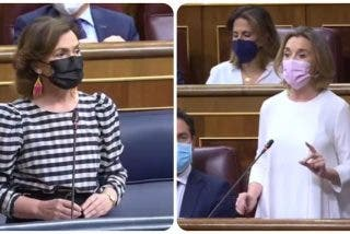 Cuca Gamarra deja muda a Carmen Calvo con la pregunta sobre la amnistía a los golpistas