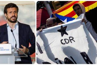 La Guardia Civil desvela que los CDR independentistas plantearon un atentado para matar a Pablo Casado