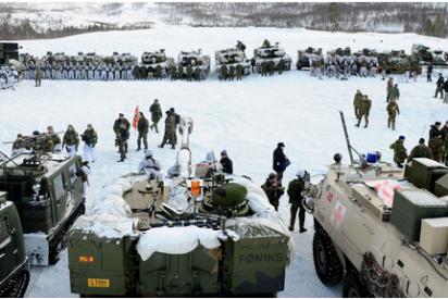 Rusia enciende las alarmas internacionales por sus ejercicios militares en el Ártico