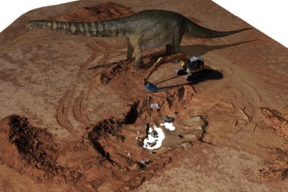 Así era el 'titán del sur', uno de los mayores dinosaurios del mundo