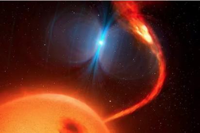 Los científicos descubren una extraña hélice magnética en el espacio