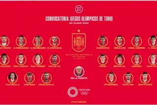 Seis jugadores de la Eurocopa, 'fichados' para representar a España en los JJOO