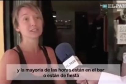 """El vídeo viral de una independentista catalana llena de prejuicios: """"En Andalucía viven del cuento"""""""