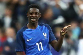Eurocopa: Francia pierde a Dembélé por una lesión que podrá dejarle tres meses sin jugar